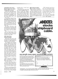 Maritime Reporter Magazine, page 13,  Jan 1978