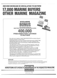Maritime Reporter Magazine, page 29,  Jan 1978