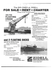 Maritime Reporter Magazine, page 46,  Jan 1978 boom travel