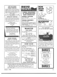 Maritime Reporter Magazine, page 49,  Jan 1978