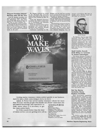 Maritime Reporter Magazine, page 10,  Jul 15, 1978 New York