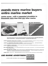 Maritime Reporter Magazine, page 27,  Jul 15, 1978 thousands more shoreside buyers