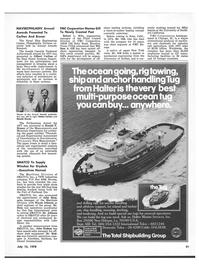 Maritime Reporter Magazine, page 29,  Jul 15, 1978 Ronald Bruner
