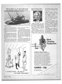 Maritime Reporter Magazine, page 15,  Aug 1978 Douglas C. Wolcott