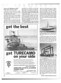 Maritime Reporter Magazine, page 36,  Aug 1978 John Manly Shipyards