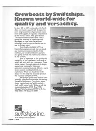Maritime Reporter Magazine, page 39,  Aug 1978