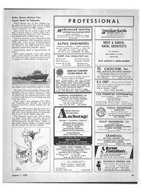 Maritime Reporter Magazine, page 41,  Aug 1978