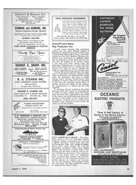 Maritime Reporter Magazine, page 43,  Aug 1978 Connecticut
