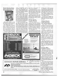 Maritime Reporter Magazine, page 4th Cover,  Aug 1978