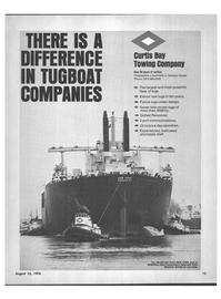 Maritime Reporter Magazine, page 13,  Aug 15, 1978 CURTIS BAY TOWING COMPANY