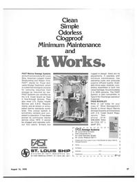 Maritime Reporter Magazine, page 23,  Aug 15, 1978 MO SHIP