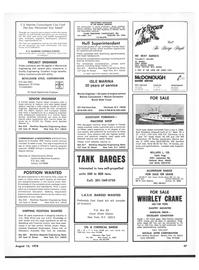 Maritime Reporter Magazine, page 43,  Aug 15, 1978 California