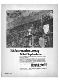 Maritime Reporter Magazine, page 3rd Cover,  Sep 1978 Mark Drydocks