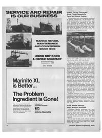 Maritime Reporter Magazine, page 4th Cover,  Sep 1978