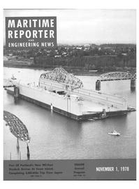 Maritime Reporter Magazine Cover Nov 1978 -
