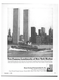 Maritime Reporter Magazine, page 13,  Nov 1978 Port of New York
