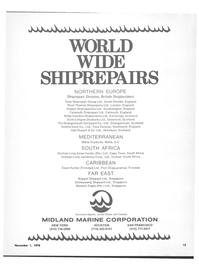 Maritime Reporter Magazine, page 15,  Nov 1978 Trinidad FAR