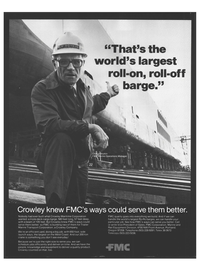 Maritime Reporter Magazine, page 2nd Cover,  Nov 1978 Rail Equipment Division
