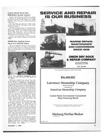 Maritime Reporter Magazine, page 29,  Nov 1978 Donald C. Gerber