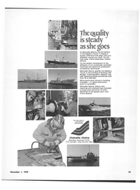 Maritime Reporter Magazine, page 37,  Nov 1978 Harman On Time Radio