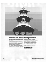 Maritime Reporter Magazine, page 40,  Nov 1978 Caterpillar Tractor Co.