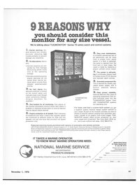 Maritime Reporter Magazine, page 47,  Nov 1978