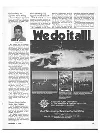 Maritime Reporter Magazine, page 49,  Nov 1978