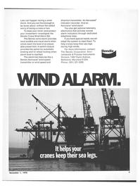 Maritime Reporter Magazine, page 5,  Nov 1978 telemetry electronics