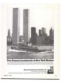 Maritime Reporter Magazine, page 11,  Dec 1978 Port of New York