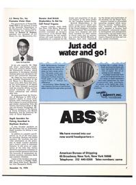 Maritime Reporter Magazine, page 9,  Dec 15, 1978 New York
