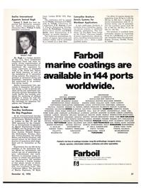 Maritime Reporter Magazine, page 31,  Dec 15, 1978 Massachusetts