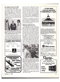 Maritime Reporter Magazine, page 45,  Dec 15, 1978