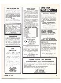 Maritime Reporter Magazine, page 3rd Cover,  Dec 15, 1978 Louisiana