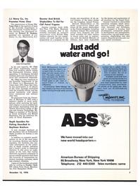 Maritime Reporter Magazine, page 7,  Dec 15, 1978 New York