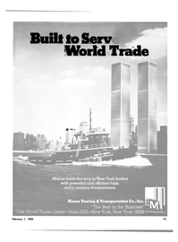 Maritime Reporter Magazine, page 11,  Feb 1980 World Trade Center