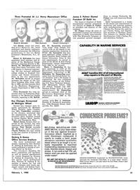 Maritime Reporter Magazine, page 35,  Feb 1980