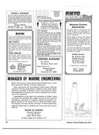 Maritime Reporter Magazine, page 44,  Feb 1980