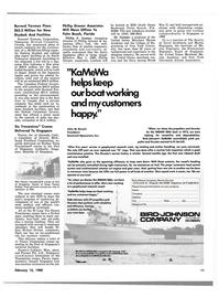 Maritime Reporter Magazine, page 9,  Feb 15, 1980