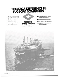 Maritime Reporter Magazine, page 11,  Feb 15, 1980 CURTIS BAY TOWING COMPANY
