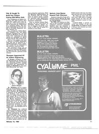 Maritime Reporter Magazine, page 13,  Feb 15, 1980