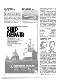 Maritime Reporter Magazine, page 18,  Feb 15, 1980