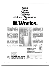 Maritime Reporter Magazine, page 21,  Feb 15, 1980 flow-through devices