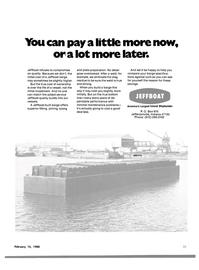 Maritime Reporter Magazine, page 23,  Feb 15, 1980