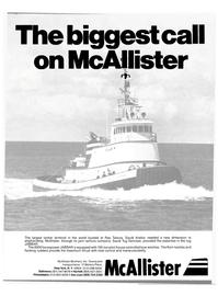 Maritime Reporter Magazine, page 1,  Feb 15, 1980