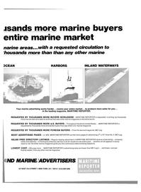 Maritime Reporter Magazine, page 43,  Feb 15, 1980