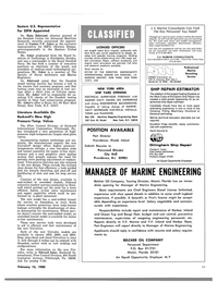 Maritime Reporter Magazine, page 53,  Feb 15, 1980 eastern US