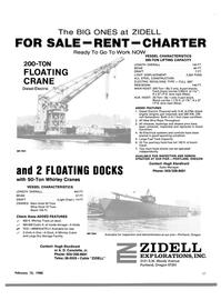 Maritime Reporter Magazine, page 57,  Feb 15, 1980