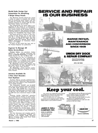 Maritime Reporter Magazine, page 17,  Mar 1980 New York