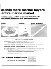 Maritime Reporter Magazine, page 21,  Mar 1980