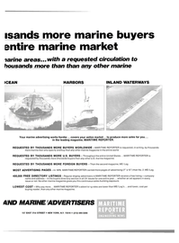 Maritime Reporter Magazine, page 23,  Mar 1980 shoreside buyers